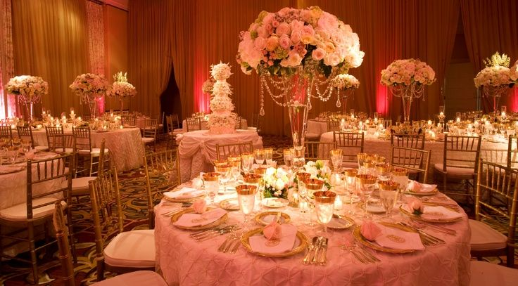 Tables - chairs - lighting - candles | Peony Wedding Ideas ...