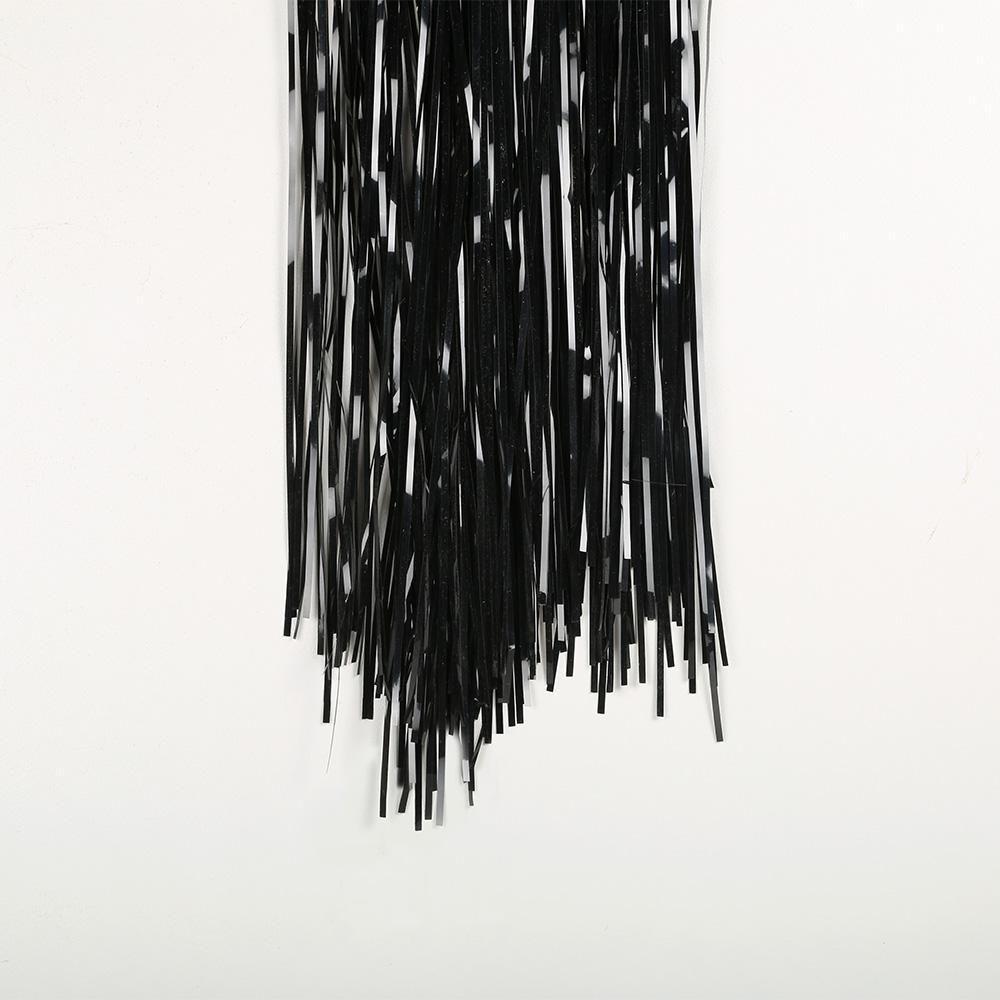 Black Curtain 2m X 90cm Black Curtains Curtains Foil Curtain