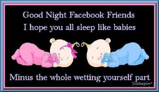 Goodnight Statuses For Facebook