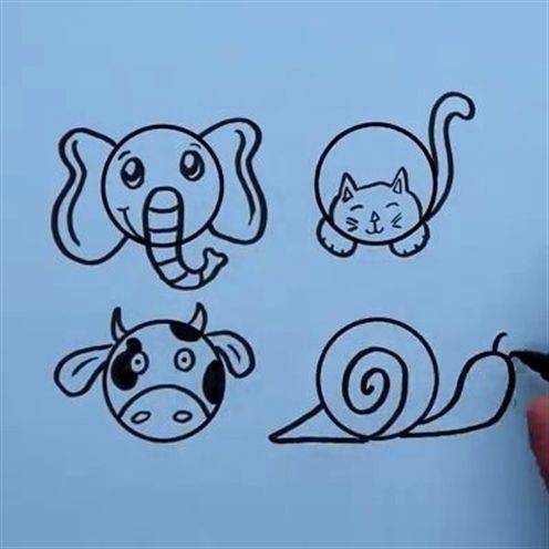 ^..^ Video - Watch the video and see if you can follow along with the drawing lessons. . . . . . - craftIdea.org