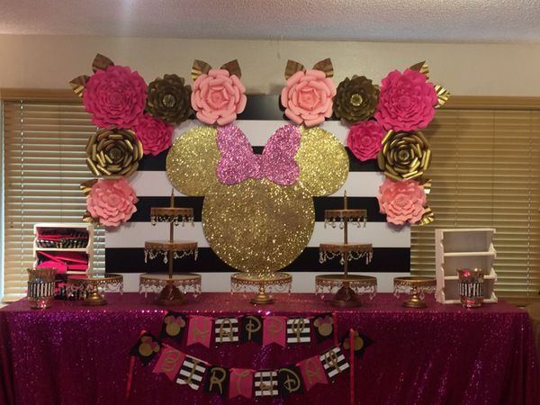 Minnie Mouse Backdrop Birthday Party Event General In Hayward