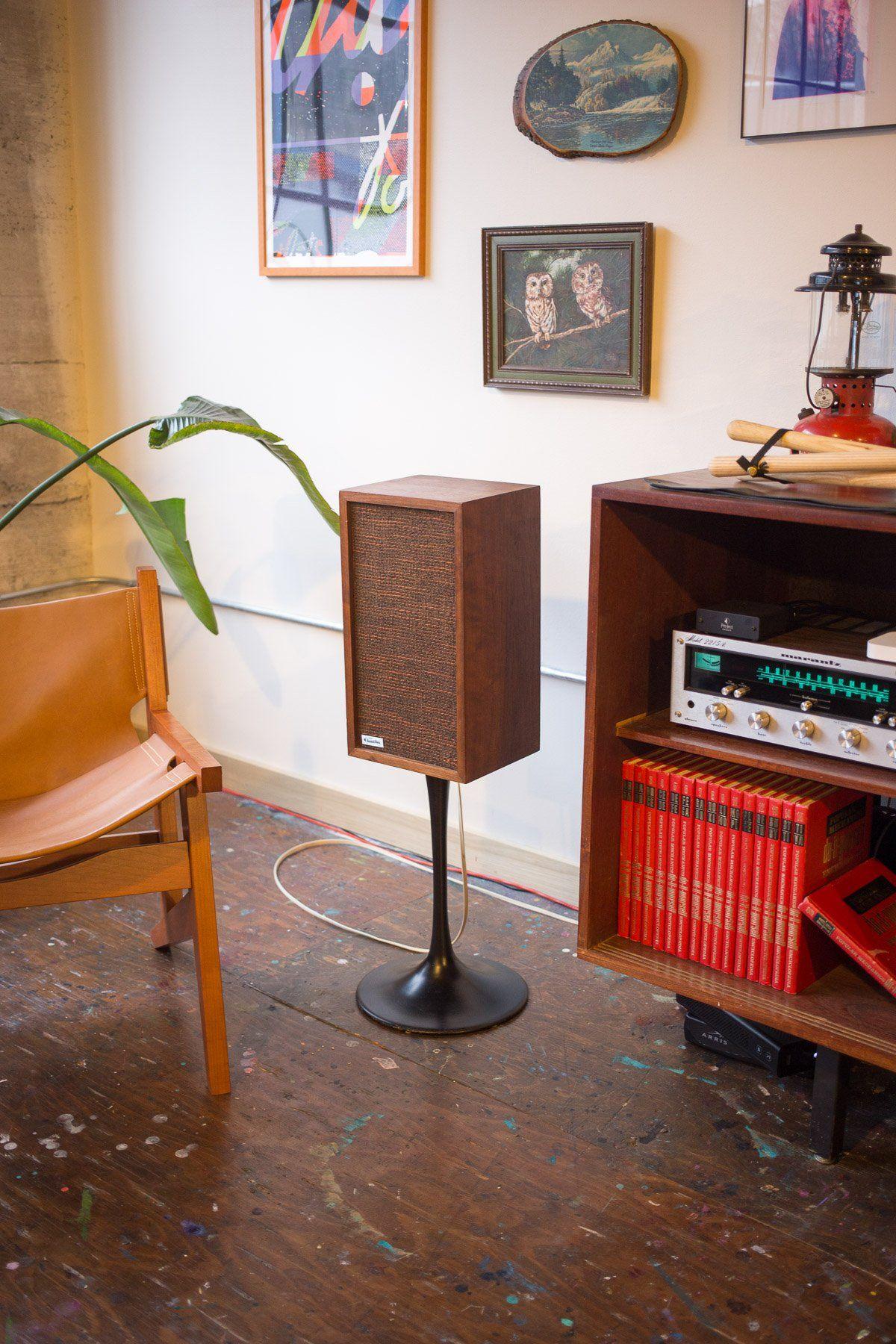 Midcentury Style Speaker DIY | Diy speakers, Speaker ...