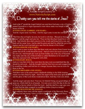 Christmas Play Scripts Free.Free Script To Act Out The Christmas Nativity Pageant