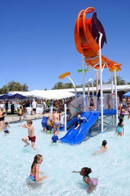 Palm Desert Aquatic Center Ca Vortex Elevations With
