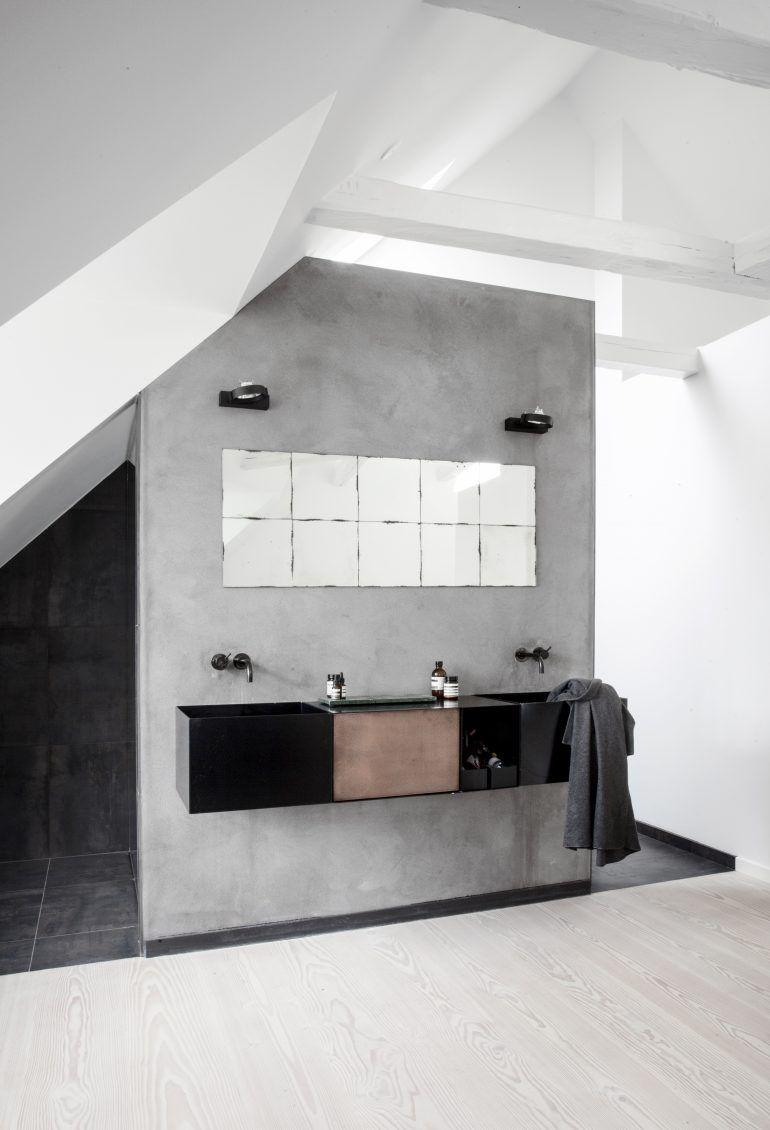 Meuble Salle De Bain Twist Brico Depot ~ Combles 5 Projets D Co Pour S Inspirer Pinterest Attic