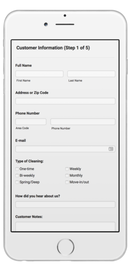 House Cleaning Estimate Calculator Web App Cleaning Business
