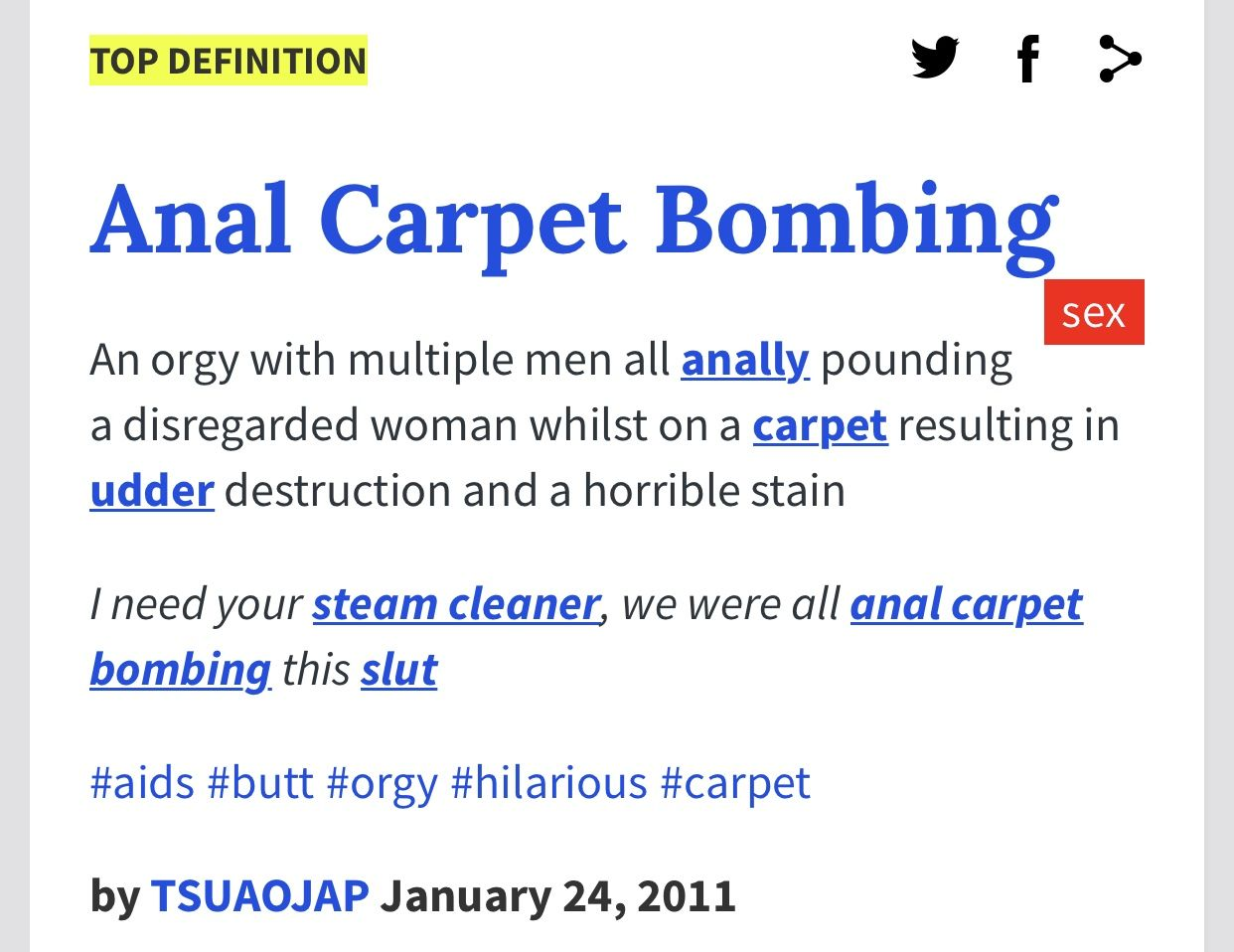 Pin By Connie Masterson On Urban Dictionary Urban Dictionary Quotes Carpet Bombing