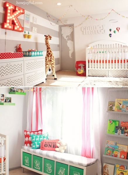 Charming Love The Fabulous, Circus/carnival Themed Nursery. So Many Whimsical  Details In This Adorable, Gender Neutral Space! Good Ideas