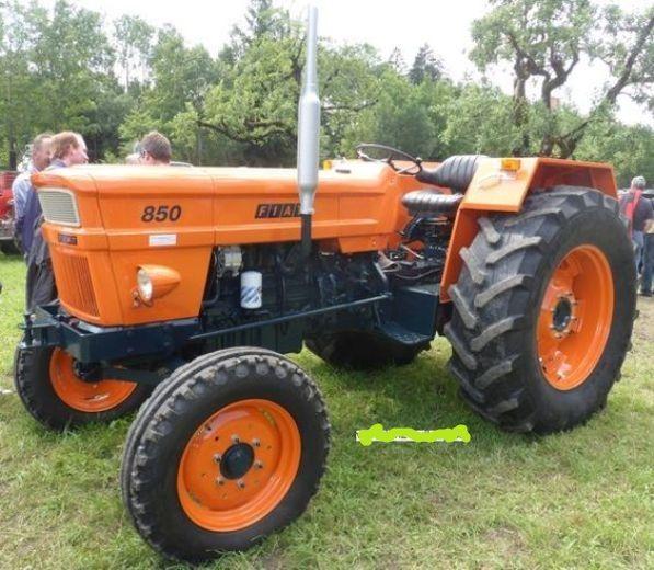Fiat 850 Super Traktor Fiat 850 Tractors Fiat