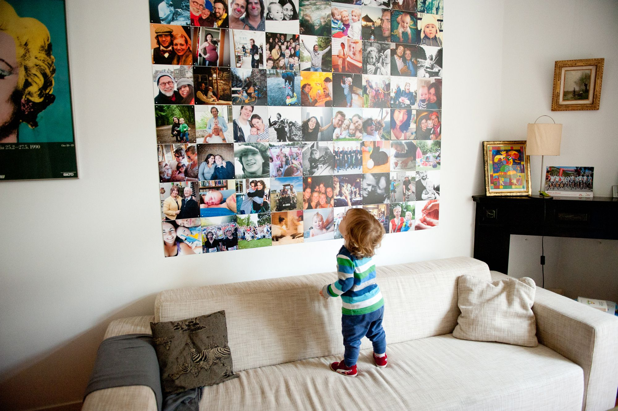 Ixxi collage by james muiser woonkamer pinterest collages illustraties en decoratie - Decoratie hoofdslaapkamer ...