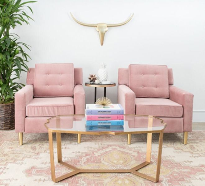 Currently Craving: Pops of Pink Decor | Pinterest | Living rooms ...