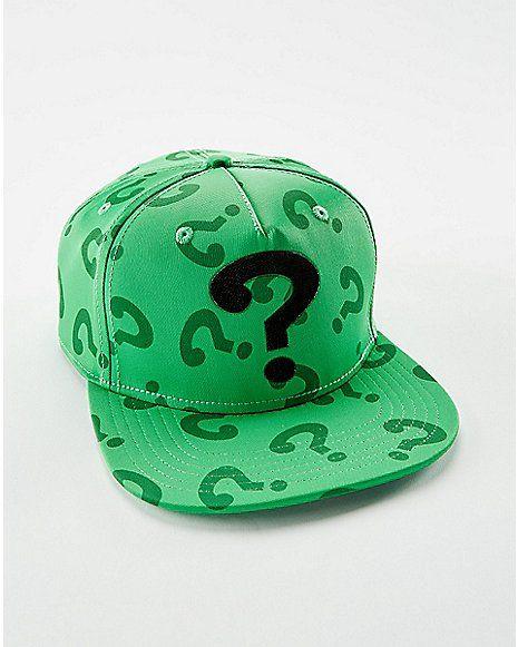 28e1de36cbf10 3D Weld Cosplay Riddler Snapback Hat - Spencer s