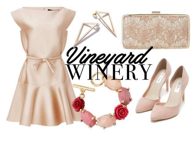 """Champagne Problems"" by twoloudd ❤ liked on Polyvore featuring Paule Ka, Oscar de la Renta, L.K.Bennett and Nly Shoes"