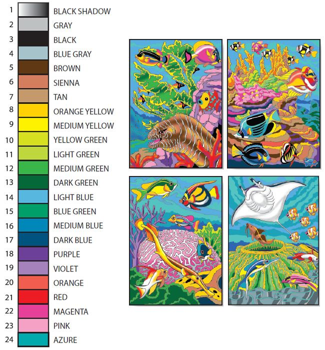 Welcome to Dover Publications - Creative Haven Sea Life Color by ...