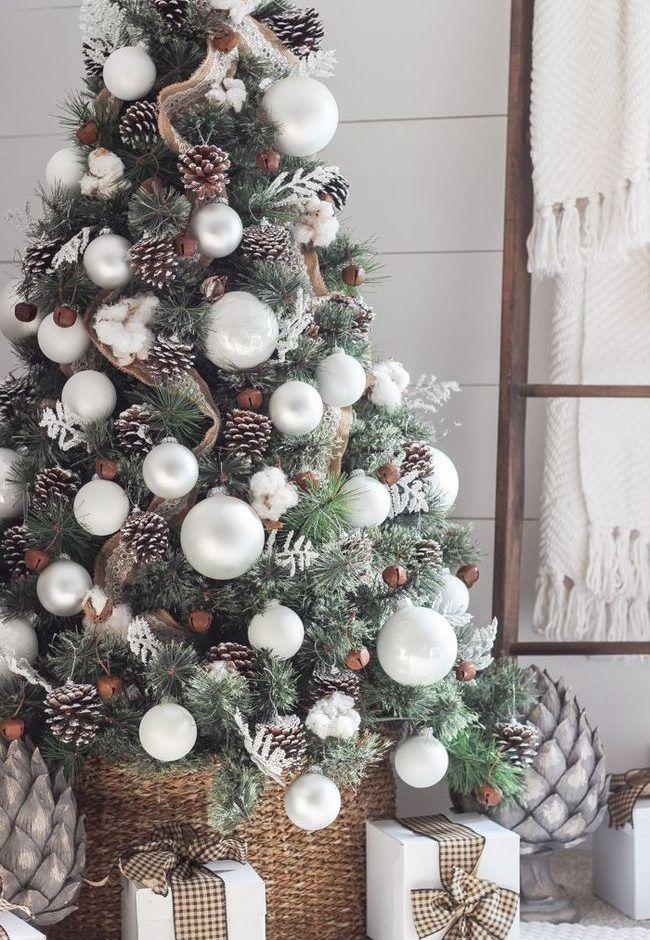 Tendencias en árboles de Navidad 2018-2019