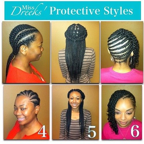 Tumblr Natural Hair Styles Hair Styles Protective Hairstyles Braids