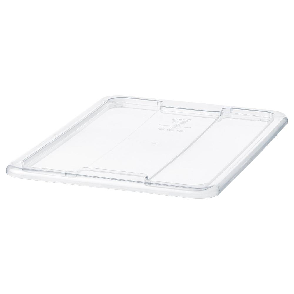 Samla Couvercle Pour Boite 11 22 L Transparent Ikea Couvercle Boite De Rangement Ikea