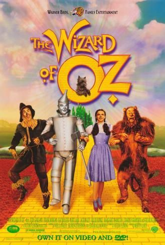 Poster: The Wizard of Oz, 40x27in.