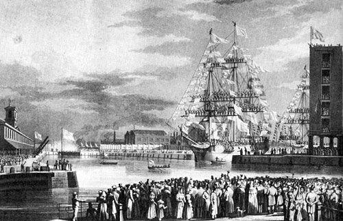 File:St katharine docks 1828.jpg