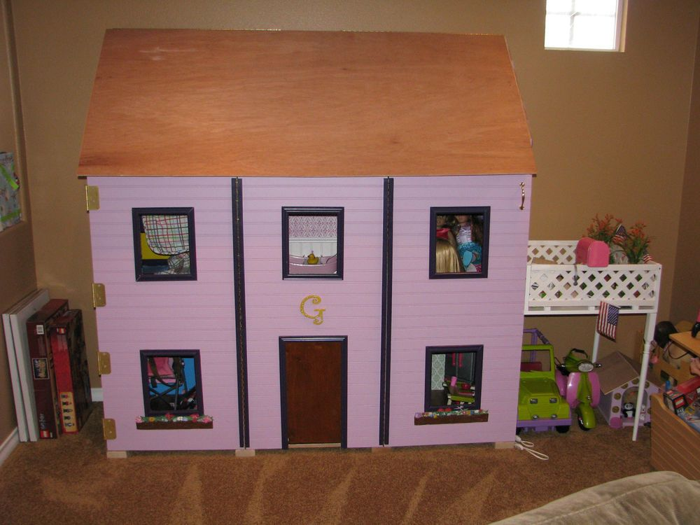 American Girl Dollhouse 18 Doll Sized Plans for Dollhouse for sale online