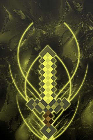 Minecraft Gold Sword Minecraft Wallpaper Minecraft Images Minecraft Coloring Pages