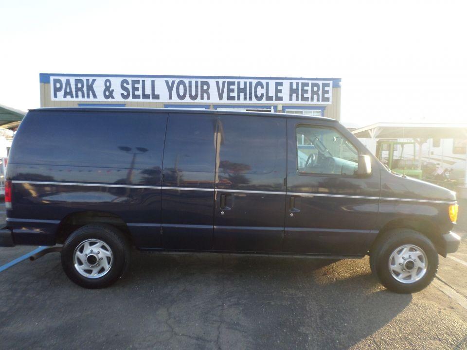 2007 Ford E150 Cargo Van Van For Sale Cargo Van Cargo Vans For