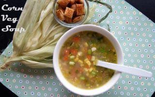 sweet corn veg soup easy homemade vegetarian soup recipe recipe veg soup vegetarian soup recipes vegetarian soup pinterest