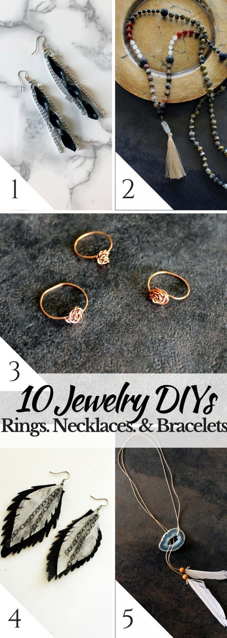 Photo of 10 simple jewelry instructions for beginners – creative fashion blog – 10 simple …,  #begin…