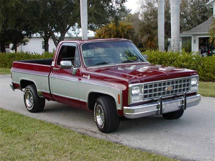 Chevrolet C 10 1980 High Quality 1980 Chevy Stepside Pickup
