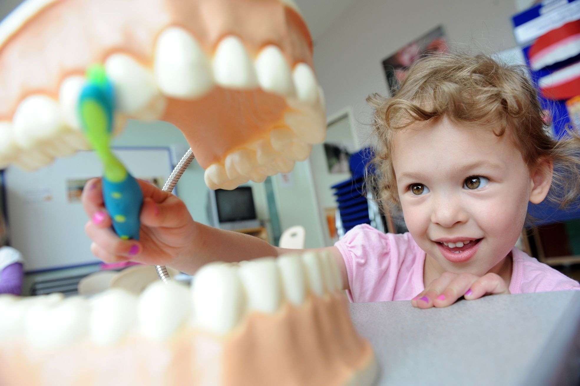Educating kids about their teeth and how to take care of