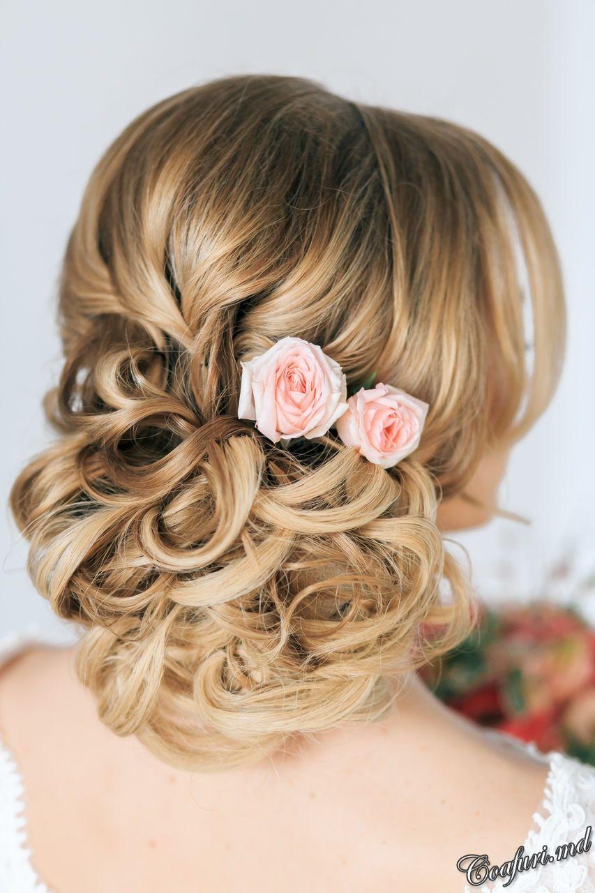 Coafuri De Mireasa Par Mediu Ombre Hairdo Wedding Wedding Up Do