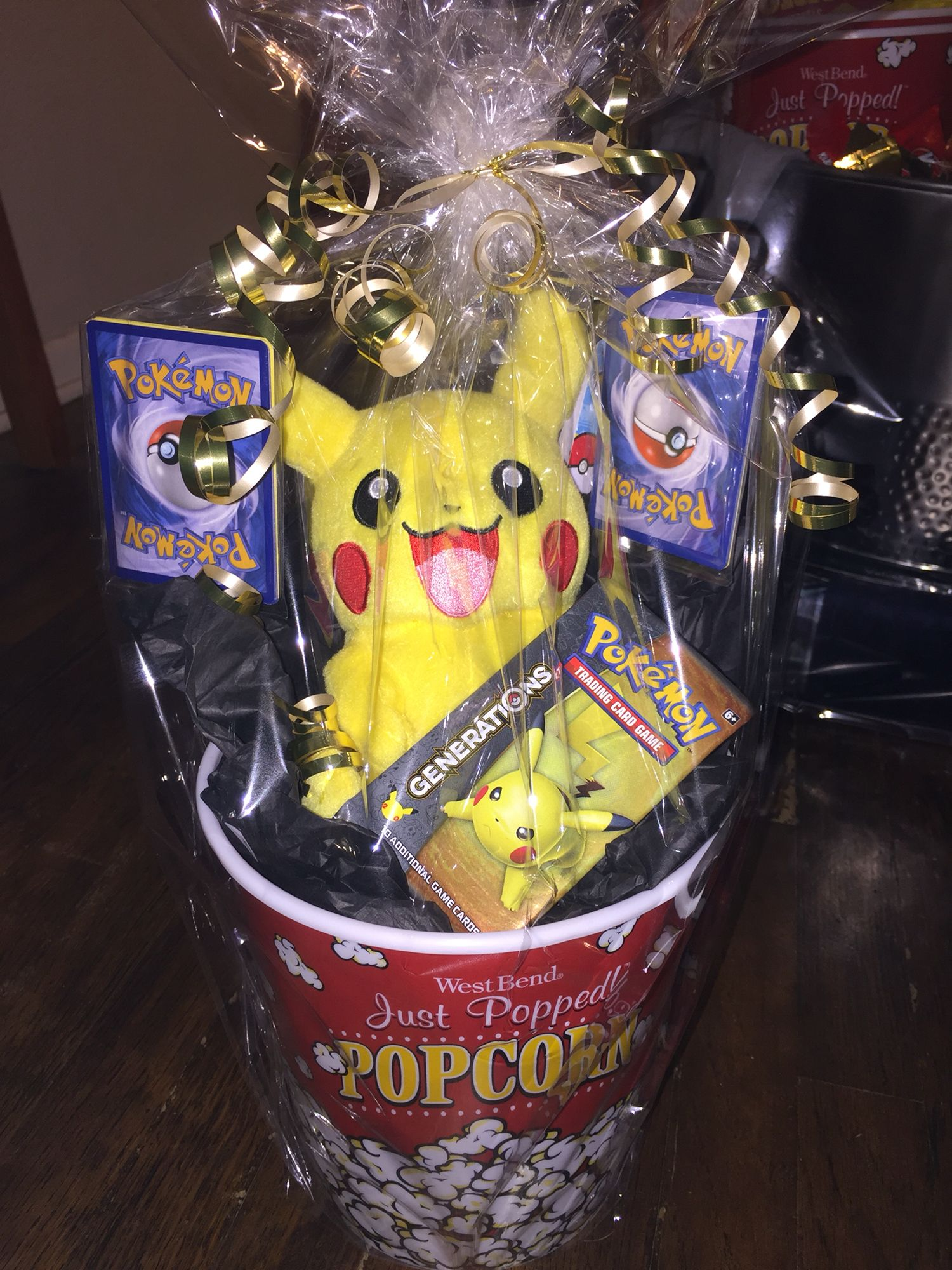 Pokemon gift basket fundraiser pinterest gift easter and pokemon gift basket negle Choice Image