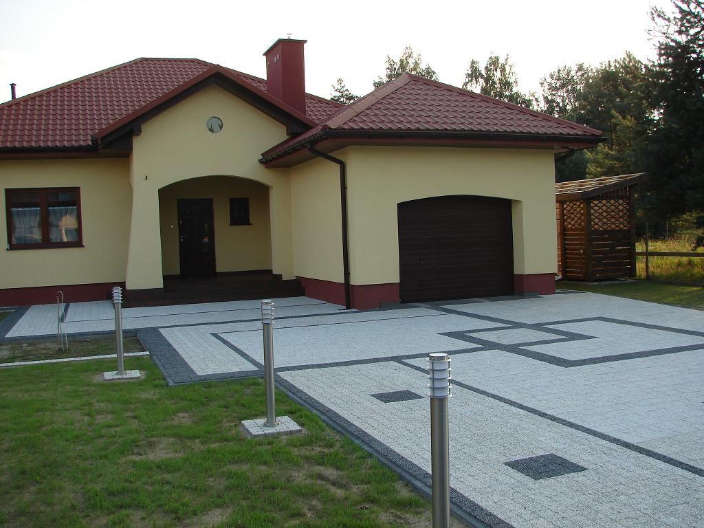 Projekty Kostki Brukowej Przed Domem Wg Projektu Aranżacji