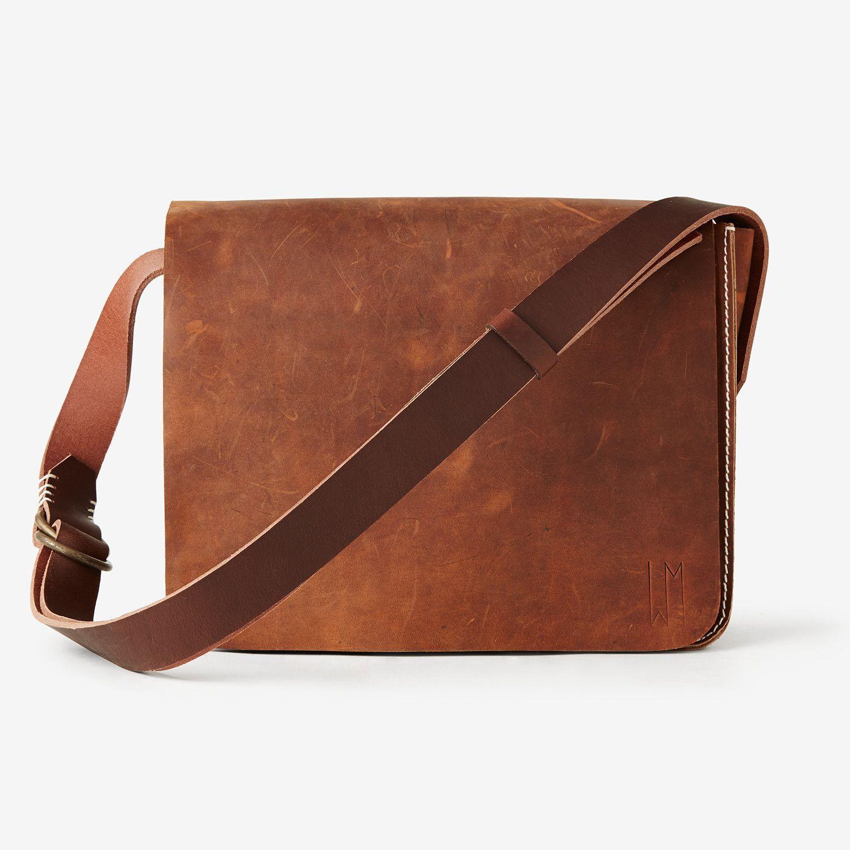 Tom's Messenger Bag- Copper