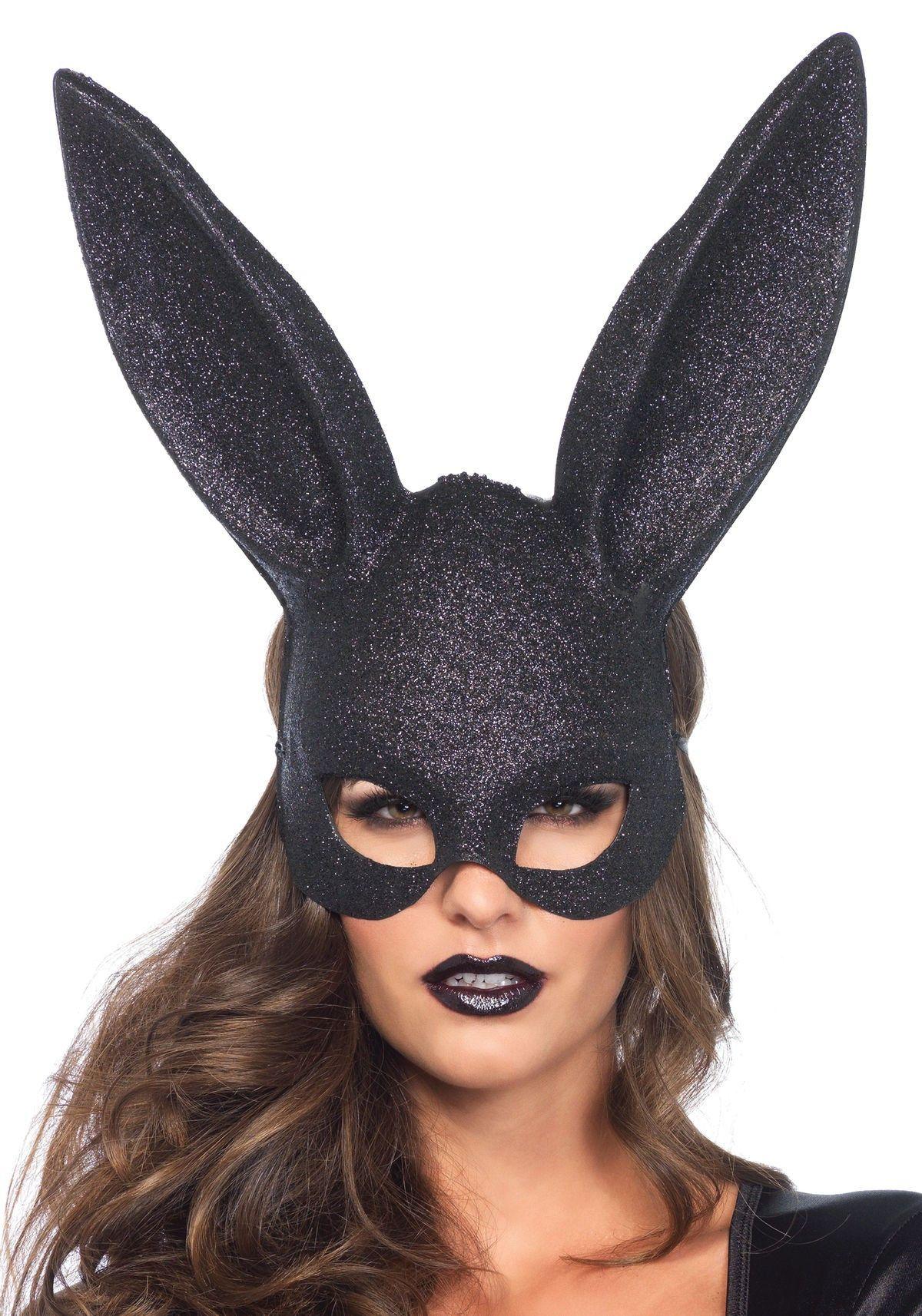 Long Ears Rabbit Bunny Mask Grande Halloween Party Costume Cosplay Masquerade
