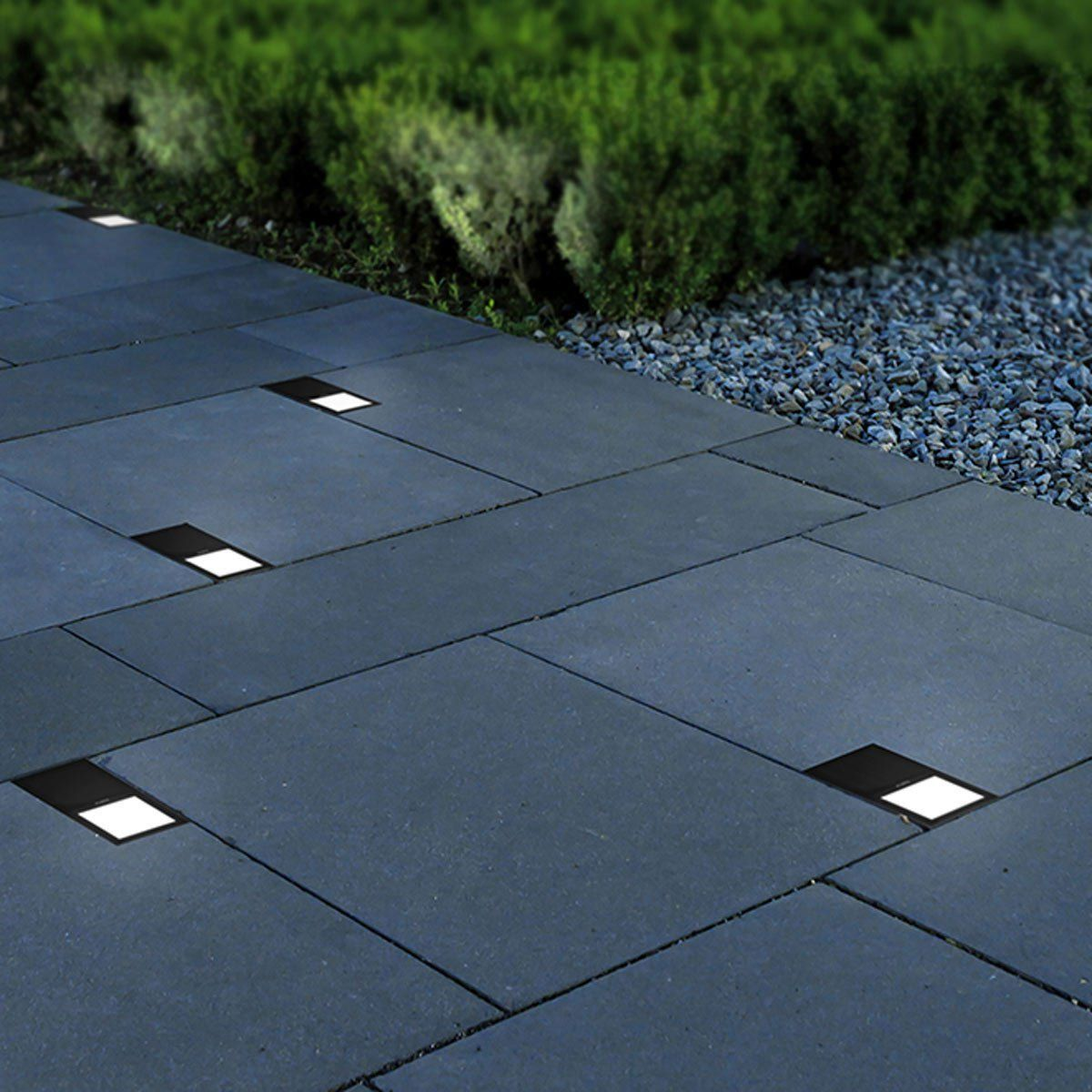 Brick Solar Lights #landscapelightingdesign