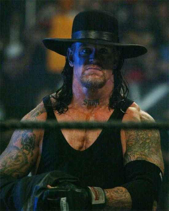 Mark Calaway Undertaker   Previous Next The Undertaker AKA ...