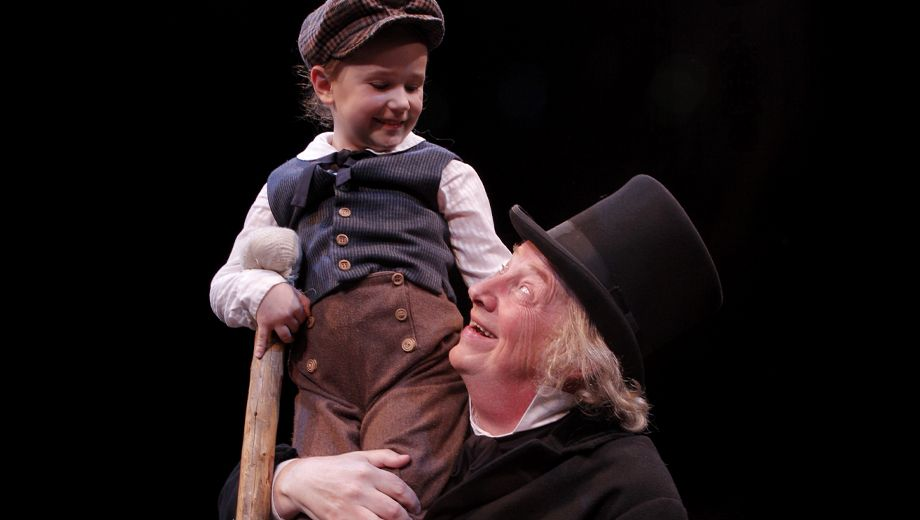 a christmas carol allen theatre at act seattle wa