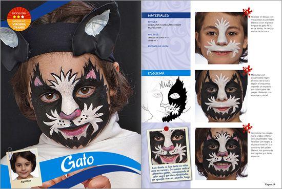 Maquillaje artistico infantil paso a paso fotos 80