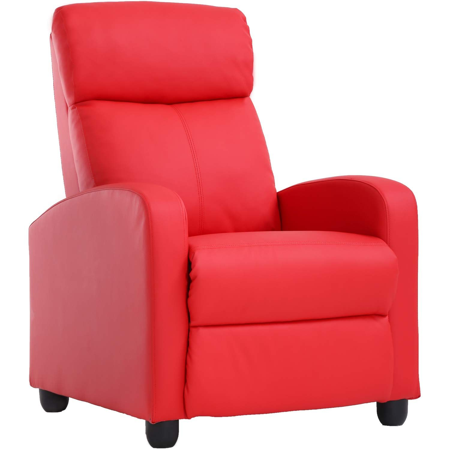 Recliner Chair For Living Room Recliner Sofa Reading Chair Winback Single Sofa Modern Reclining Chair Recliner Chair Couch With Chaise Leather Sofa Living Room