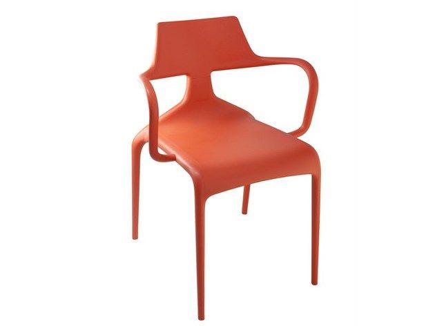 Bunt dynamisch stapelbare Hai Stühle von Green Dekoration - designer mobel baumstammen