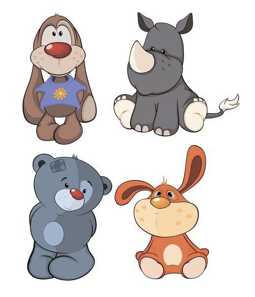 Картинки (животные) | Иллюстрации, Иллюстрации с животными ...