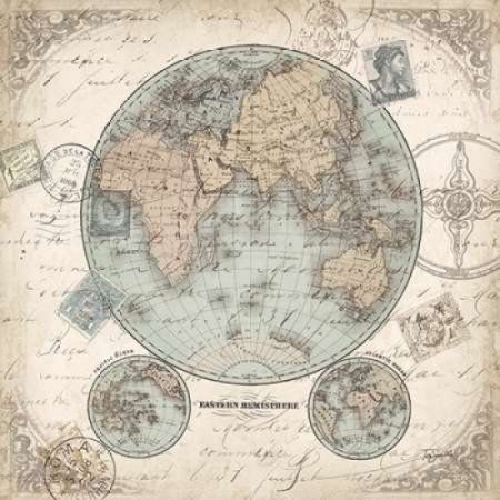 World hemispheres i canvas art tre sorelle studios 24 x 24 mapas world hemispheres i canvas art tre sorelle studios 24 x 24 walmart gumiabroncs Images