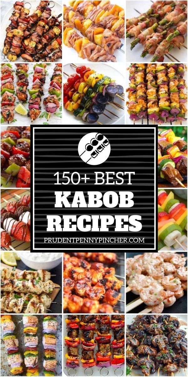 150 Best Kabob Recipes – 150 Best Kabob Recipes #grilling #recipes #bbq #kabobs… – Carey&CleanEatingS