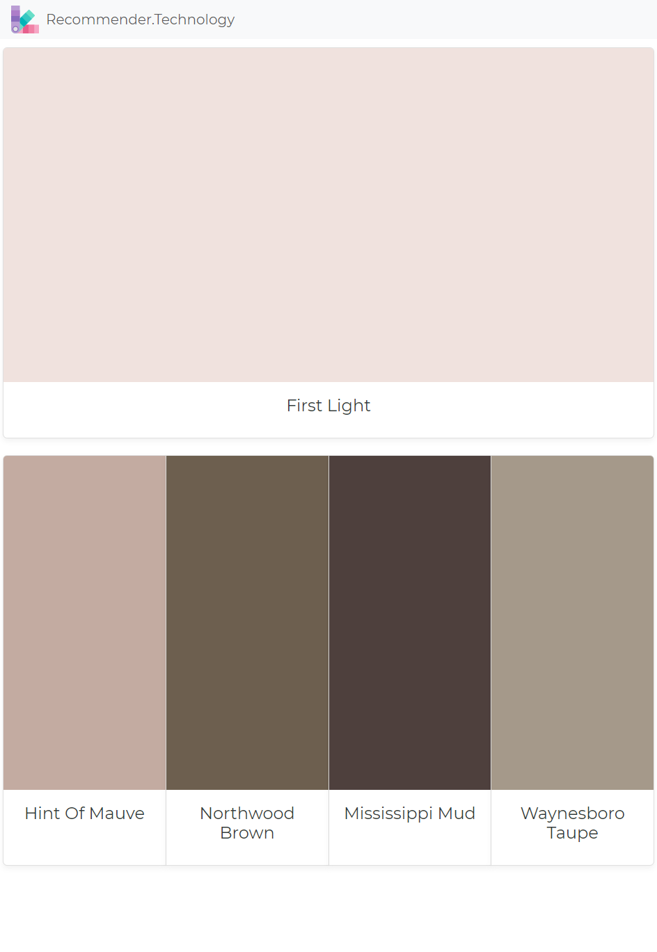 First Light Hint Of Mauve Northwood Brown Mississippi Mud Waynesboro Taupe Pink Accent Walls Paint Colors Benjamin Moore Brown Decor