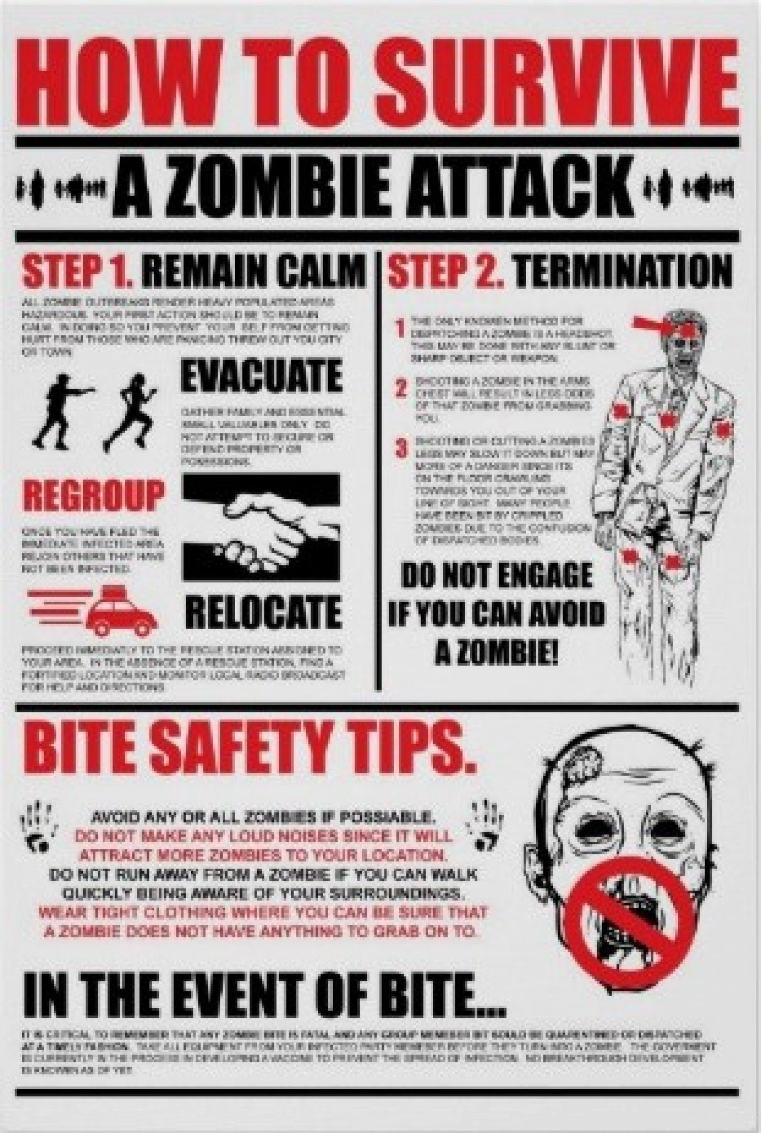 zombie survival guide - Google Search | Zombie Apocalypse ...
