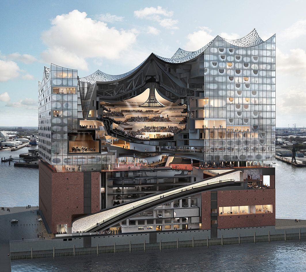 Standing Ovation Herzog De Meuron S Elbphilharmonie Opens In Hamburg Architecture Concert Hall Architecture Architecture Design