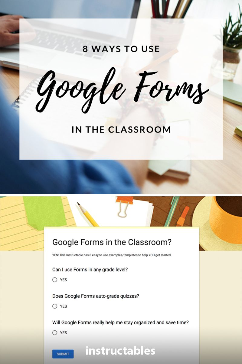 Google Forms in the Classroom Google forms, Student