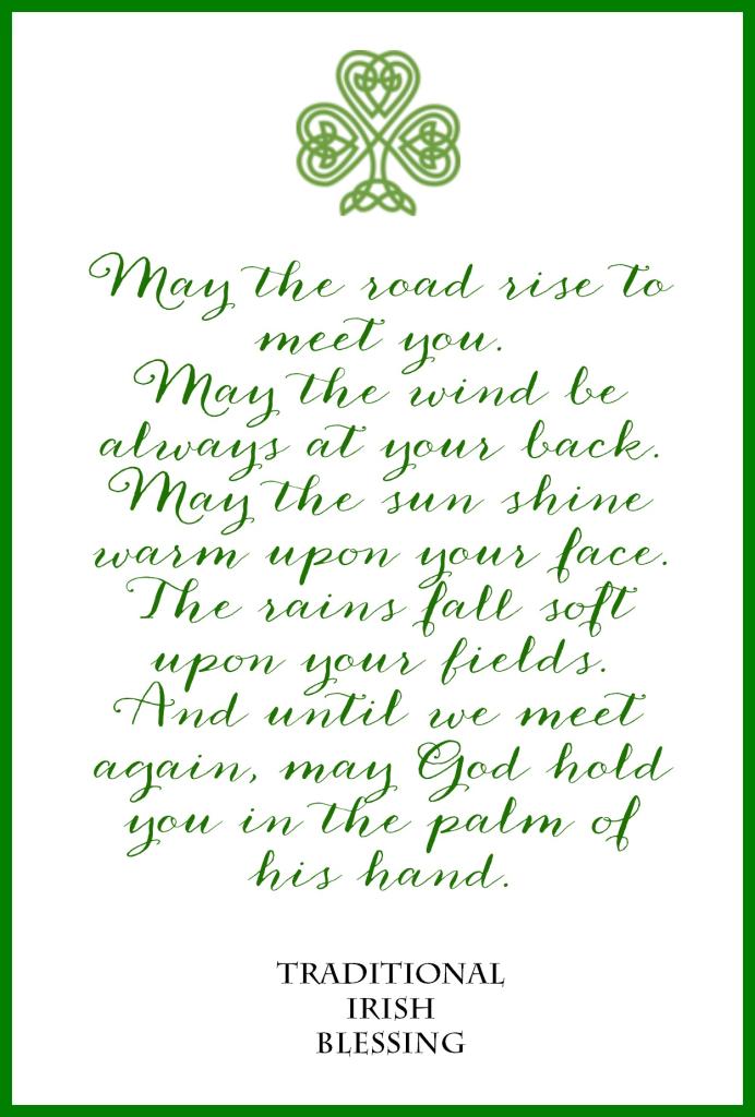 irish blessing.jpg - Box   Irish, Ireland, Celtic/Gaelic   Pinterest ...