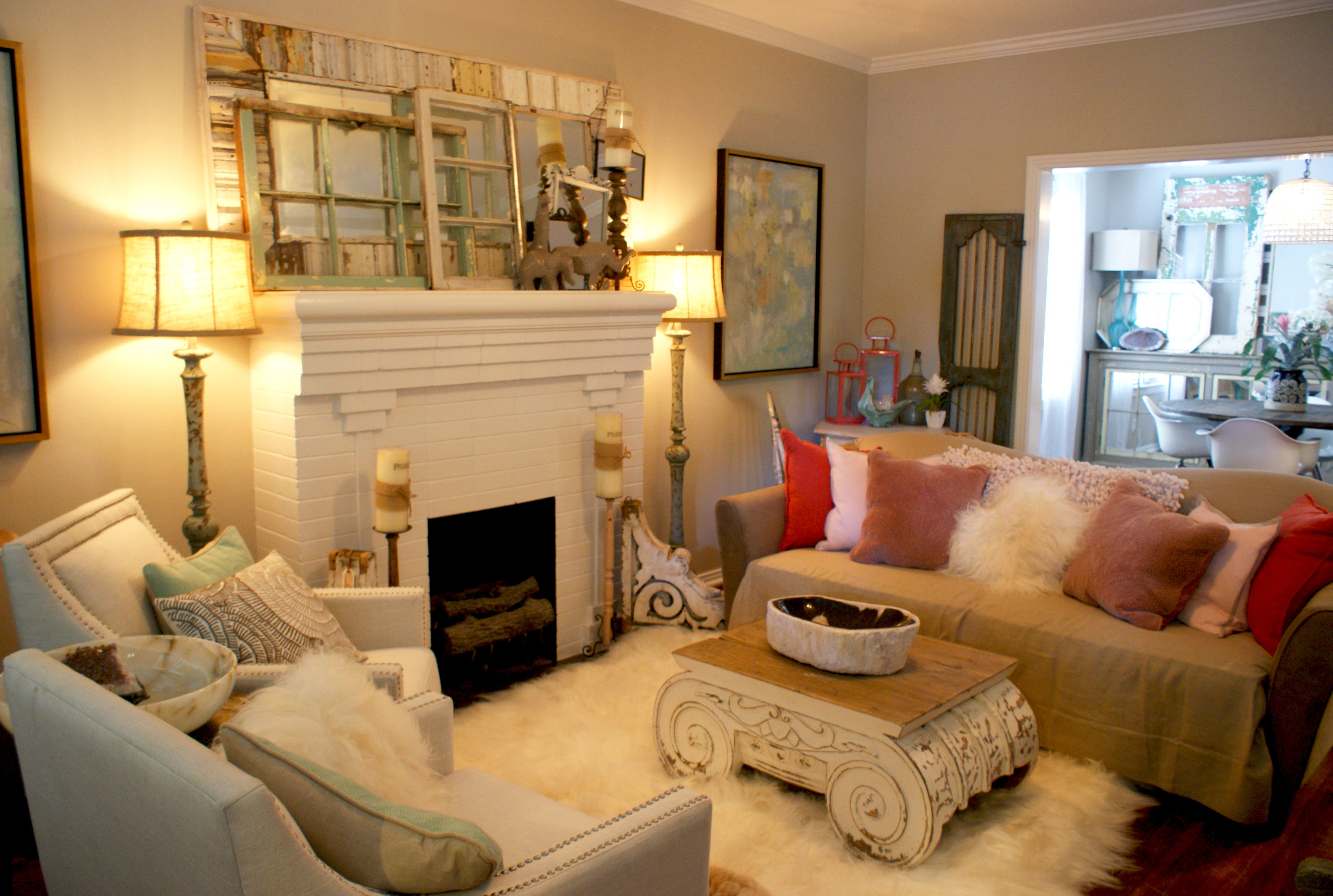 Shabby Chic Home Makeover With Paul Michael Company #paulmichaelcompany  #shabbychic #homemakeover